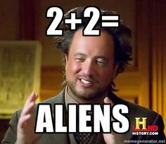 """""""2 + 2 is....CHICKEN!!!"""""""