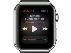Apple Watch Player Control