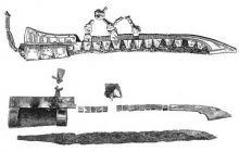 Ring aus Birka f�r die Sax-Scheide