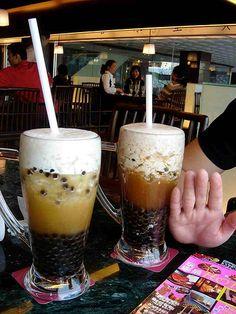 Hong Kong bubble teas