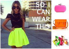 Los mejores trucos y consejos para combinar tus prendas de color neón y seguir las últimas tendencias.