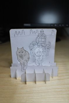 Picture of Standing Scene Card - think of the possibilities in a classroom or home school environment!