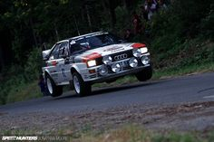 Audi Quattro S1 Rally Car