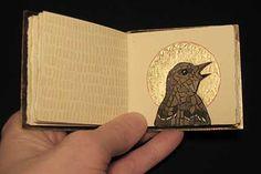 Holy Bird art book by Laura Davidson Journal D'art, Artist Journal, Art Journal Pages, Art Journals, Book Art, Up Book, This Is A Book, Altered Books, Altered Art