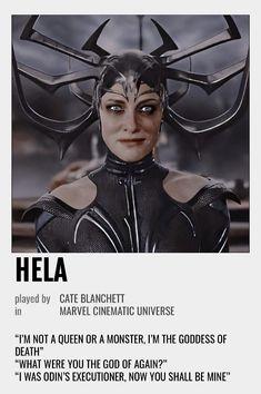 Hela Polaroid Poster