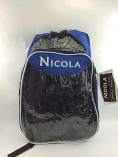 morral bolso escolar nicola transparente aguanta peso