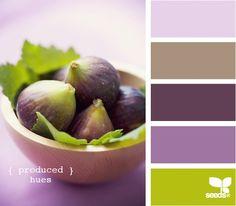 produced hues