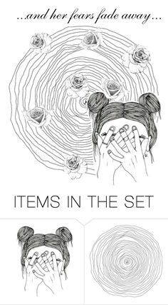 """And Her..."" by bluedaisywhale ❤ liked on Polyvore featuring art"