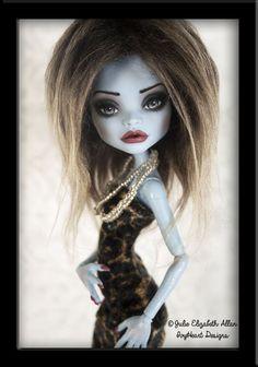 ~Sophia~ OOAK Custom Monster High Abbey Bominable Repaint - IvyHeart Designs