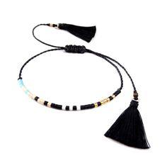 beaded friendship bracelet seed bead bracelet by ToccoDiLustro