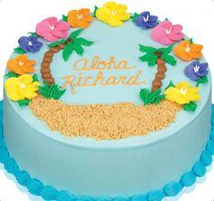 Baskin-Robbins | Aloha Cake    Katelynn's birthday cake!