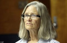 Manson family member Leslie Van Houten, 66 (pictured Thursday), has been approved for parole in California, but the daughter of her victims has pleaded for her to be kept in prison