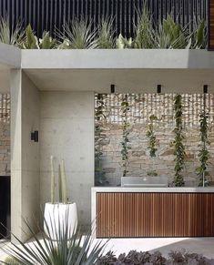 Outdoor Areas, Outdoor Rooms, Outdoor Living, Outdoor Decor, Rustic Kitchen Design, Outdoor Kitchen Design, Casa Patio, Backyard Patio, Outdoor Bbq Kitchen