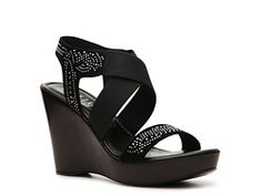 Italian Shoemakers Twilight Wedge Sandal