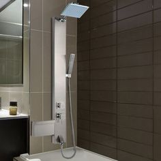 Found it at Wayfair - Rainfall Shower Panel Tower Diverter/Thermostatic