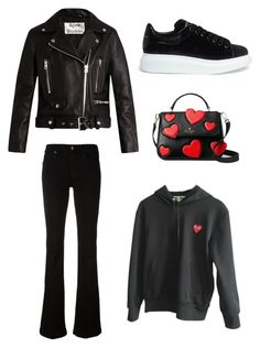 """""""Loop"""" by varvara2v on Polyvore featuring мода, Comme des Garçons, Acne Studios, Alexander McQueen, Kate Spade и 7 For All Mankind"""