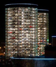VW wolfsburg AutoStadt Car Tower in Wolfsburg, Germany