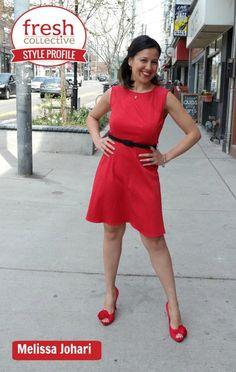 Dress: Julieta Dress from Montreal label Annie 50