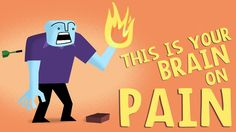 'How Does Your Brain Respond to Pain', A TED-Ed Animation About The Ways Our Bodies Process Pain via @laughingsquid