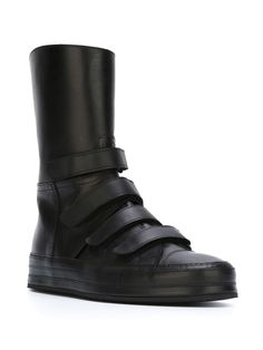 5018ffd3e93524 Ann Demeulemeester Velcro Straps Hi-top Sneakers - Raionul 4 High Top  Sneakers