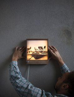 Frameworks: An LED Wooden Picture Frame