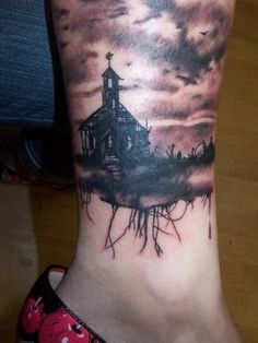 Creative gothic Tattoos | many goth tattoos are a reflection of this creativity the tattoos are ...