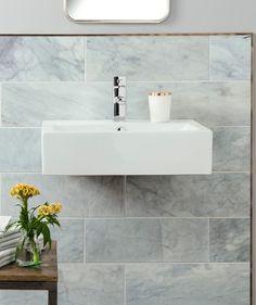 Serac™ Honed Tile x Serac Stone Tiles Collection Marble Bathroom, Bathroom Wall Tile, Hexagon Mosaic Tile, Topps Tiles, Hexagonal Mosaic, Tile Bathroom, Hexagon Tiles, Adhesive Tiles, Stone Tiles
