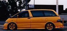 Toyota Van, Toyota Previa, Custom Vans, Specs, Bmw, Vehicles, Photos, Pictures, Car
