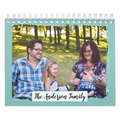 #Personalized Family Photos Calendar - #office #gifts #giftideas #business