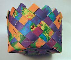 map Easter basket
