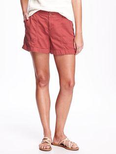 "Surplus Twill Shorts For Women (4"")"