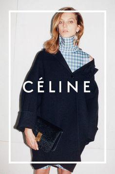 Daria Werbowy, Natalie Westling by Juergen Teller for Céline Fall Winter 2014-2015 2