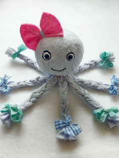 Kids Crafts, Sock Crafts, Toddler Crafts, Fabric Crafts, Diy And Crafts, Arts And Crafts, Upcycled Crafts, Sock Toys, Crochet Blanket Patterns