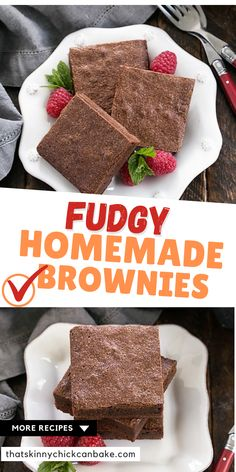 Easy Brownies from Scratch - A Gale Gand fudgy brownie recipe that has been around for decades. A one-bowl brownie recipe that will thrill all the chocolate lovers in your life! Fudgy Brownie Recipe, Salted Caramel Brownies, Fudgy Brownies, Chocolate Brownies, One Bowl Brownies, Brownies From Scratch, Chicke Recipes, Homemade Brownies, Unsweetened Chocolate