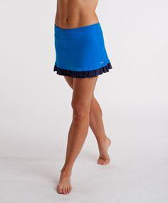 15Love tennis skirt- in blue, white, and black!