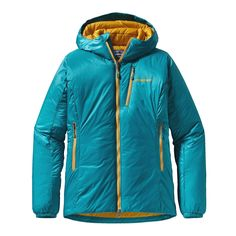 Patagonia Women's DAS Parka - For full-on alpine conditions, the DAS Parka is our warmest synthetic insulated jacket; it's made with high-loft 120-g PrimaLoft® Synergy insulation throughout, additional PrimaLoft® ONE insulation in core areas, and a lightweight, PU-coated nylon ripstop shell that's durable, highly water-resistant and windproof.