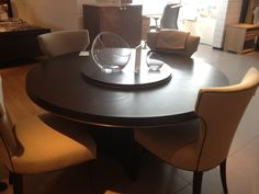 """pearse dining table with lazy susan $1499 + $249 60' also have a 48"""""""