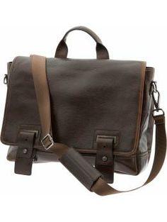 Leather work bag | Banana Republic | $210