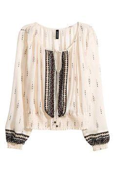 Bluză în stil boem | H&M