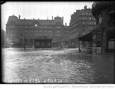 28/1/1910, cour de Rome [Paris, 8e arrondissement] : [photographie de presse] / [Agence Rol]