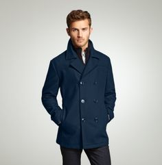 Kenneth Cole Men's Peacoat. Staple in every man's wardrobe...