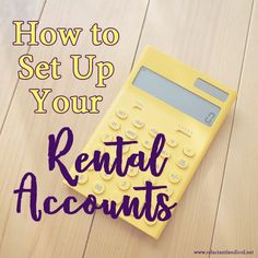 Have a rental or multiple rentals you are trying to keep track of. Check out these tips for setting up rental accounts through a bank. Income Property, Investment Property, Rental Property, Real Estate Investor, Real Estate Marketing, Real Estate Rentals, Up House, Financial Tips, Property Management