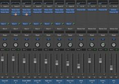 Drum channels