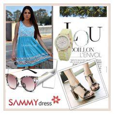 """""""Sammy Dress 25/30"""" by damira-dlxv ❤ liked on Polyvore"""