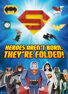 DC Super Heroes Origami 46 Folding Projects For Batman Superman Wonder Woman And More