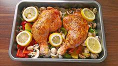 Knuspriges Huhn vom Blech à la Sylvia, ein leckeres Rezept aus der Kategorie Backen. Bewertungen: 109. Durchschnitt: Ø 4,2.