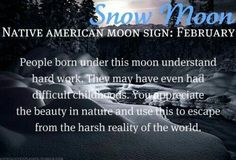 February Full Snow Moon, the Hunger Moon, the Wolf Moon