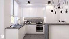 Resultado de imagen de minimalistyczna biała kuchnia