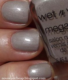 Wet n Wild Megalast Nail Color in Valet Tag from the spring 2014 limited edition The Style Award Goes to... collection
