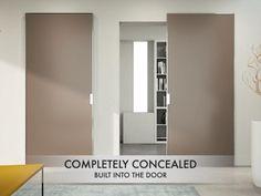 Sliding Door Hardware, Sliding Doors, Invisible Doors, Sliding Door Window Treatments, Hotel Door, Soft Flooring, Aluminium Doors, Unusual Homes, Wood Doors